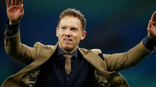 Nagelsmann: o técnico mais novo que Messi que está na semi da Champions. AFP