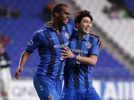 Negao scored twice for Ulsan in a 6-2 hammering. GOAL