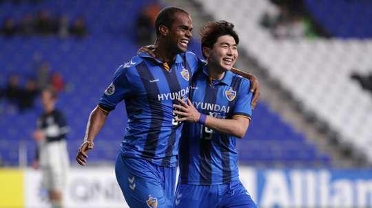 Negao scored twice for Ulsan in a 6-2 hammering. GOAL