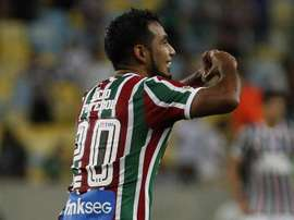 Junior Sornoza Fluminense. Goal