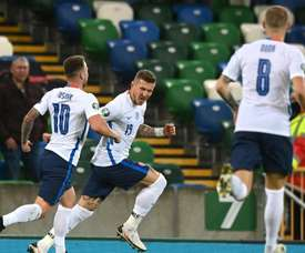 Northern Ireland went out. GOAL