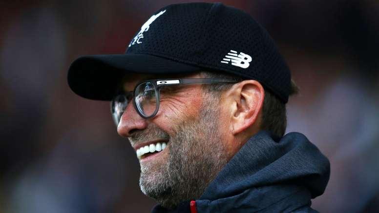 Klopp understands Guardiola joke: Liverpool haven't won title already.