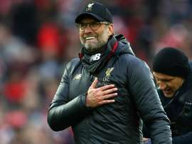 Klopp: Liverpool still embracing pressure.
