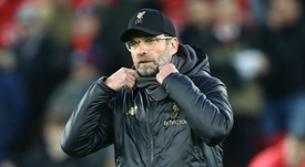 Klopp denies that a trophy would allay pressure on his side. GOAL