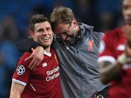 Sem Coutinho, sem problema: Milner cresce no Liverpool finalista da Champions League