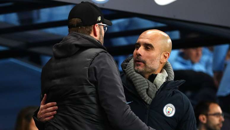 Klopp sur Guardiola : 'Il est le meilleur manager du monde'. AFP