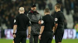 Klopp critical of officials