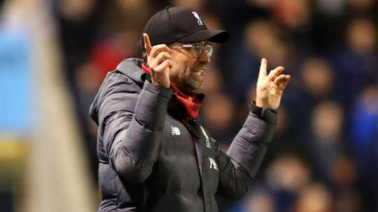 Klopp: Shrewsbury deserved at least a draw. GOAL