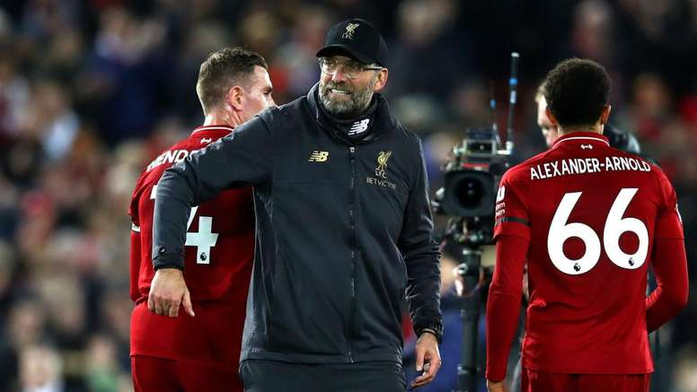 Klopp: Liverpool's December lead doesn't matter