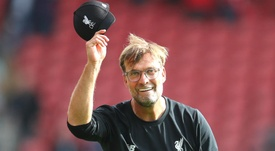 Klopp clarified that his comments on the English weather were a joke. GOAL