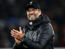 Jurgen klopp denies that he is relived at drawing Bayern. GOAL