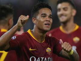 Kluivert moved to AS Roma from his boyhood club Ajax this summer. GOAL