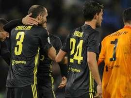 Chiellini hails Szczesny & admits Juventus had worst hour of their season.