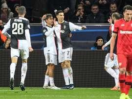 La Juventus supera il Bayer Leverkusen. Goal