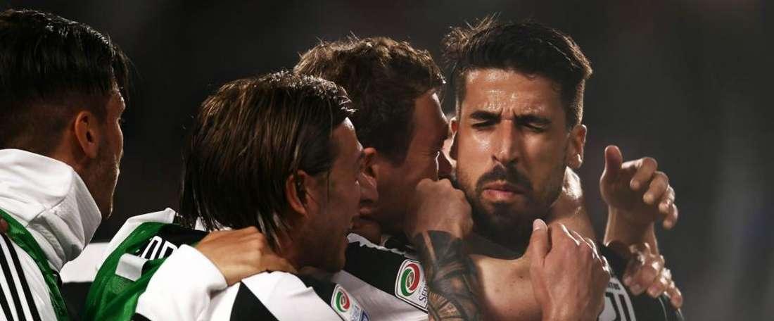 La Juventus fait un pas vers le titre. Goal