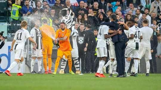 La Juventus festeggia lo Scudetto numero 37. Goal