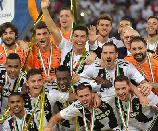 Festa Juventus: prima del match col Chievo alzerà la Supercoppa Italiana