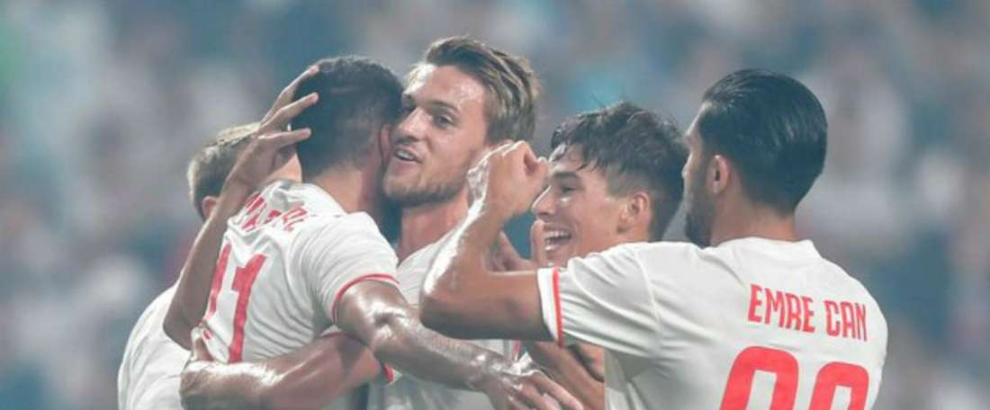 Juventus were very close to losing to the K League all stars team. GOAL