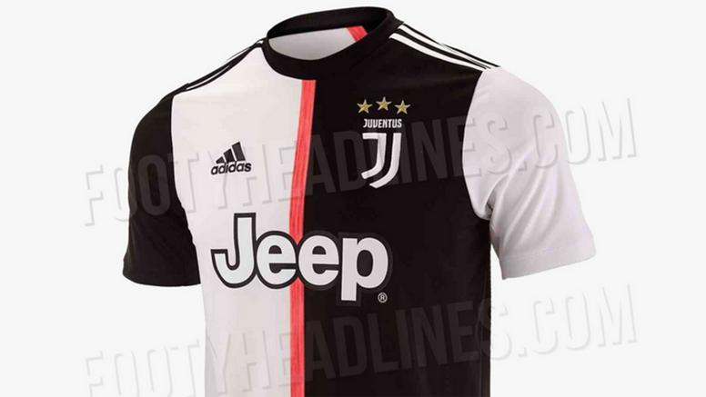 Le nouveau maillot de la Juve. Goal