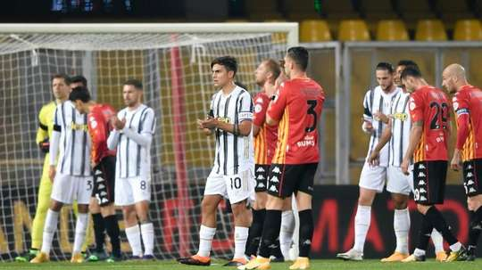 Juve paid tribute. GOAL