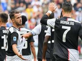 Cristiano Ronaldo et la Vieille Dame leaders provisoires. Goal