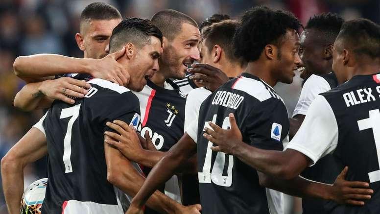 Juventus - Vérone (2-1), le minimum syndical pour Ronaldo et la Juve. AFP
