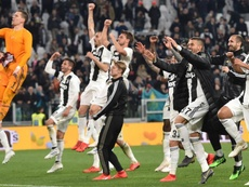 Juventus have lifted their 8th consecutive Serie A title. GOAL