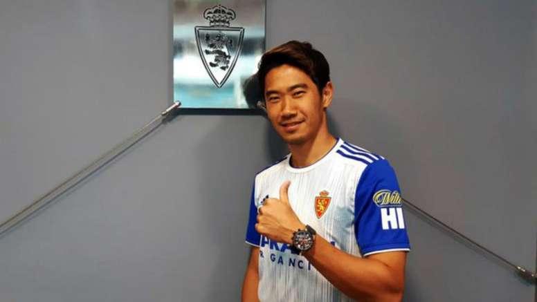 Kagawa leaves BVB for Zaragoza. GOAL