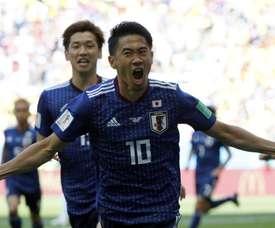 Kagawa foi fundamental para o Japão. Goal