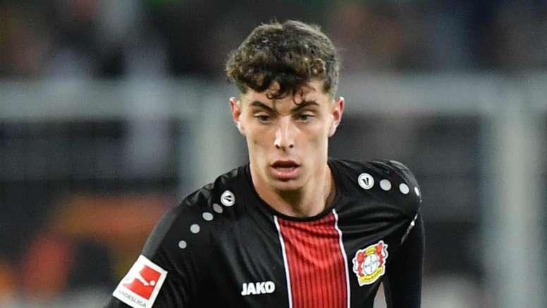 Kai Havertz had a phenomenal season for Leverkusen. GOAL
