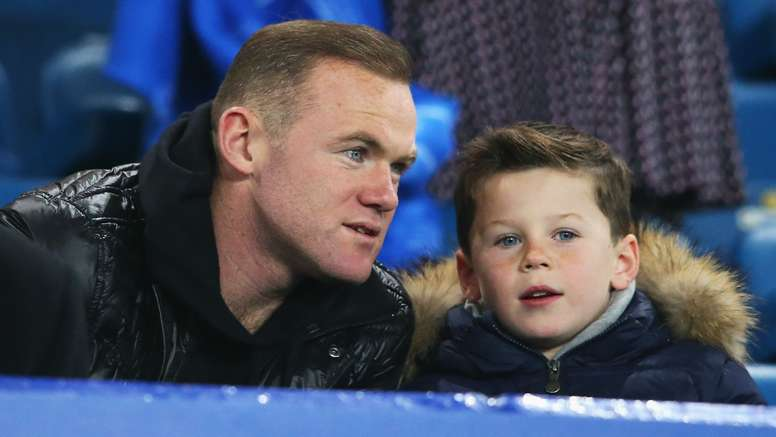 Kai Rooney is a big football fan. Goal