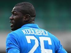 Koulibaly à propos des cris racistes : 'Ce sont eux qui devraient avoir honte'. AFP