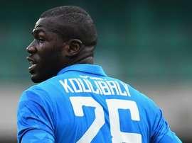 Koulibaly réclame plus de sévérité face au racisme. AFP