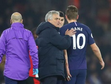Mourinho: Kane out until May. Goal