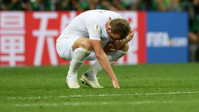 """Kane: """"dói, e vai doer durante um tempo"""".Goal"""
