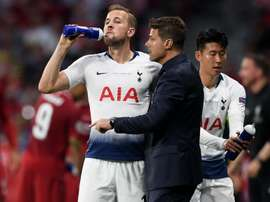 Kane is sad to see him leave. GOAL