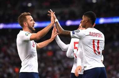 England achieved their pre-match aim to put on a show. GOAL
