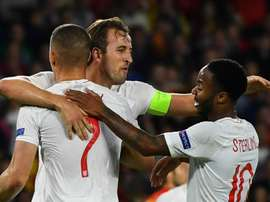 Kane says Sterling is incredible. GOAL