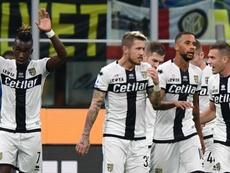 Le formazioni ufficiali di Parma-Verona. Goal