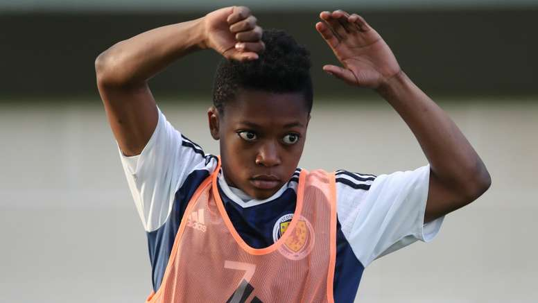 Karamoko Dembele has also played for Scotland at youth level. Goal