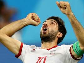 Ansarifard was one of Iran's stars at the Russia World Cup. GOAL