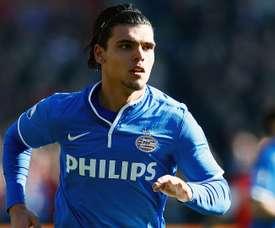 Le défenseur central néerlandais Karim Rekik, lors d'un match du championnat des Pays Bas. GOAL