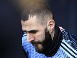 Benzema shoots down Giroud comparisons. AFP