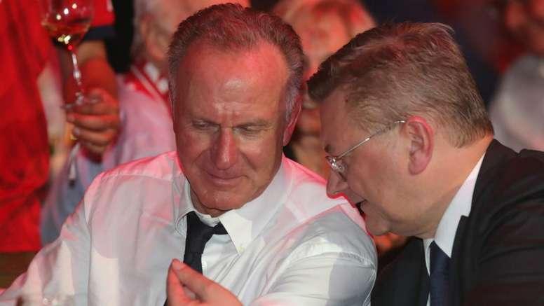 Rummenigge s'exprime sur les possibilités de recrutement du Bayern. Goal