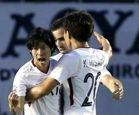 Kashima Antlers were victorious on away goals. GOAL