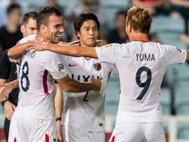 Kashima Antlers cruised into the semis. GOAL