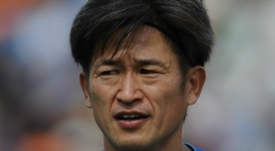 Miura's lengthy career continues. GOAL