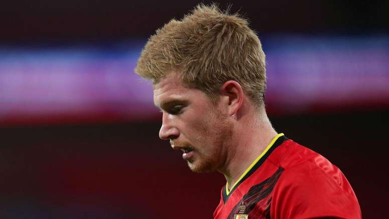 De Bruyne returns to Man City after suffering injury on Belgium duty. AFP