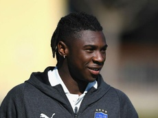 Moise Kean is ready for Italy according to Mancini. GOAL