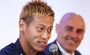 Keisuke Honda was persuaded against retirement. GOAL